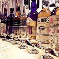 【2名限定レッスン】オールドスコッチウイスキー10種飲み比べ