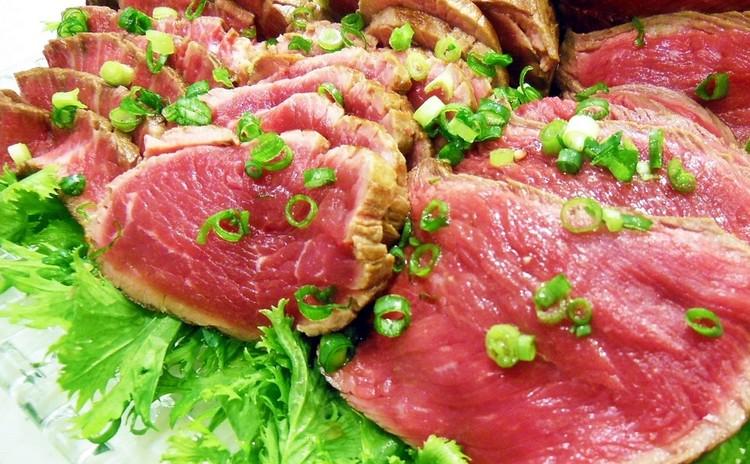 牛肉のたたき・食べ比べ