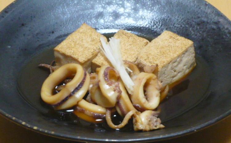 牛筋どて焼き 鯛昆布〆和え 烏賊と豆富の煮物 きんぴら
