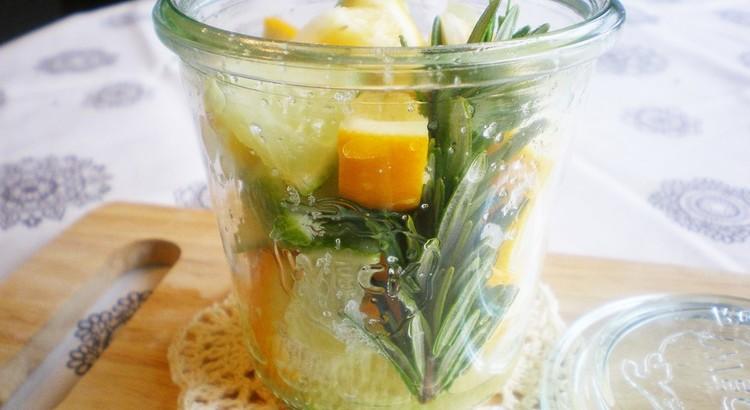 ローズマリー香✿塩レモン作り