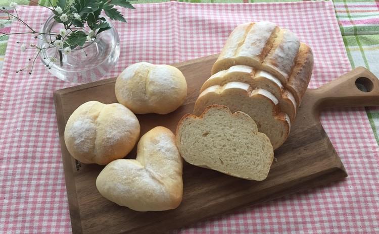 ミルクハース・白パン