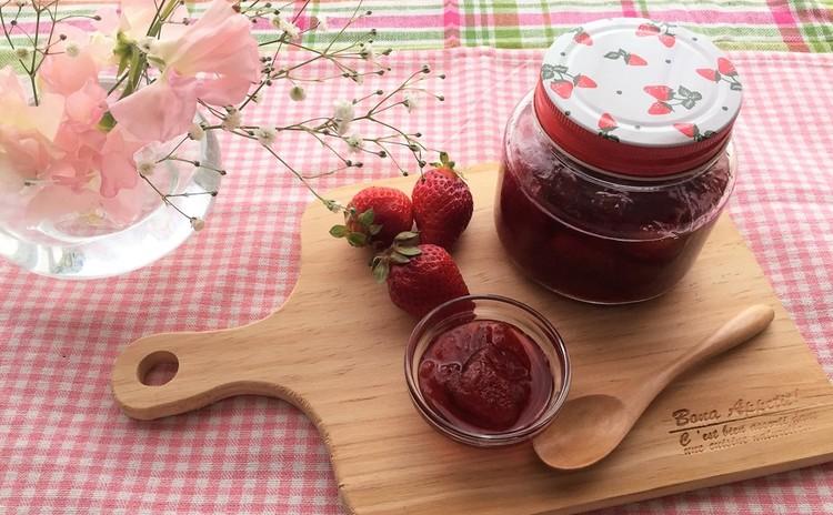 苺のコンフィチュール