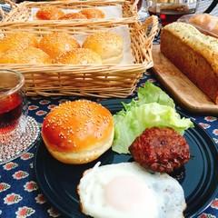 バンズパンと甘夏とアールグレイのパウンドケーキ