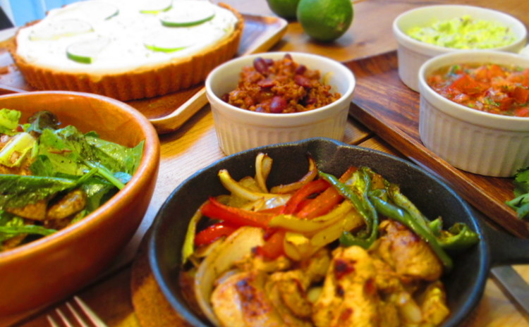 野菜たっぷり!カリフォルニアのメキシカンCAL-MEX