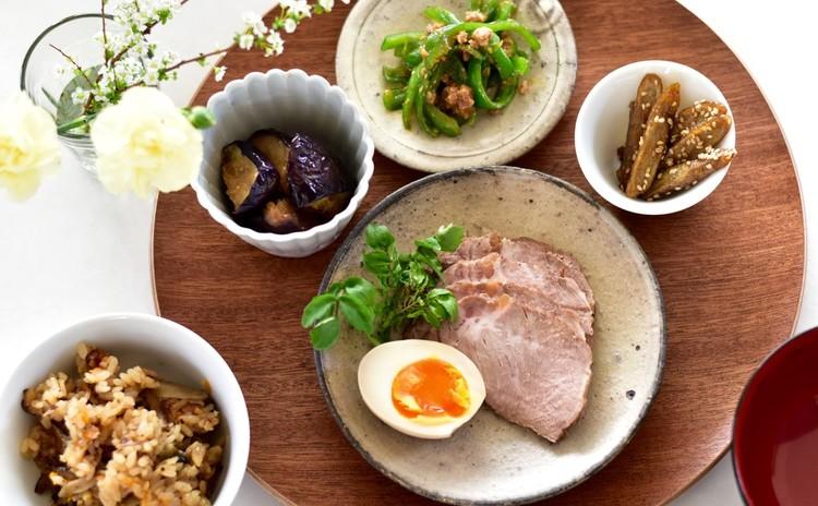 簡単だから何度でも お弁当に使えるお惣菜 煮豚煮卵、肉味噌、味噌玉等