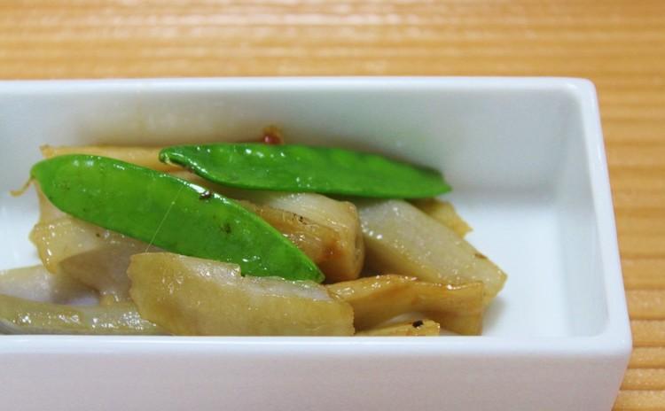 れんこんのピリ辛炒め煮