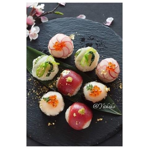 お花見❀手まり寿司の和食レッスン