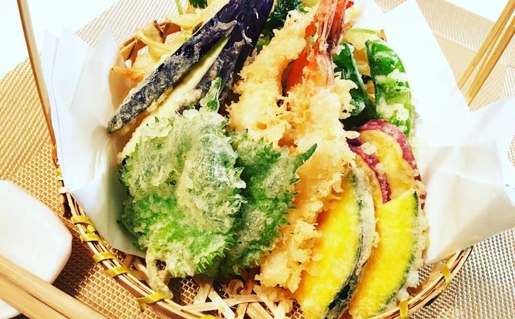 和食コース♪ 〜天ぷら&茶碗蒸し&肉豆腐&おいしい緑茶の淹れ方〜