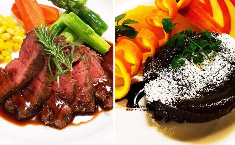おうちで記念日♪ 前菜〜おいしいステーキの焼き方&デザートプレート