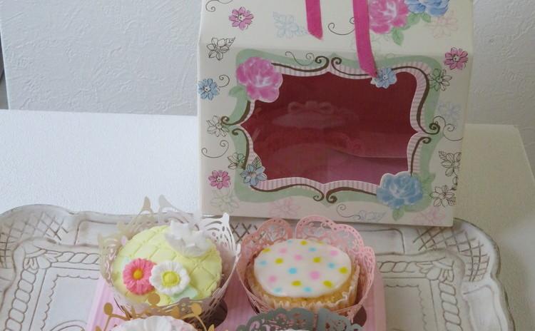 アイシングカップケーキ