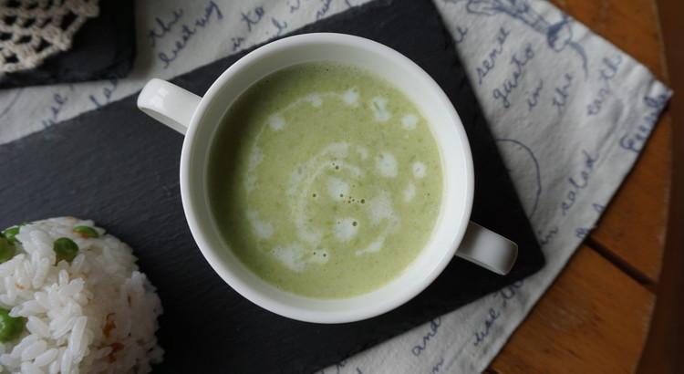 初夏香る*お豆のスープ