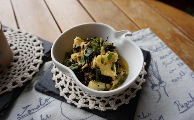 ひじきと長芋の和風カレーマリネ