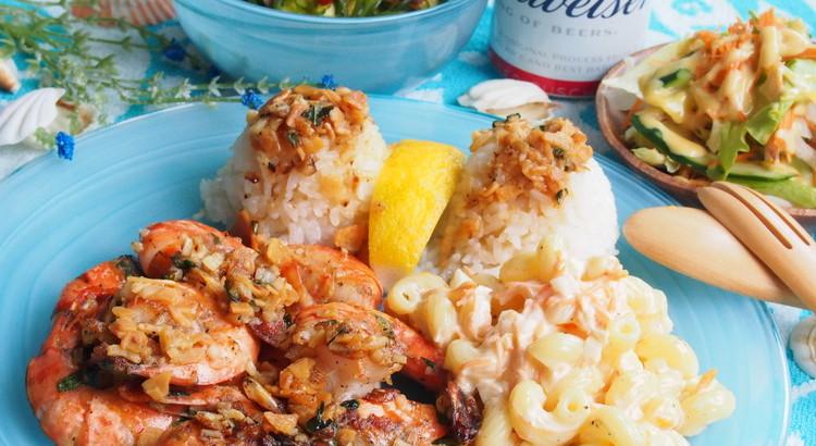 Hawaiian Seafood☆ガーリックシュリンプ、ポキなど