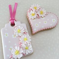 桜のお花絞り