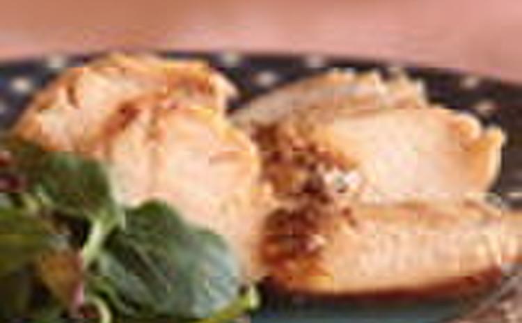 鶏むね肉のマスタードソテー