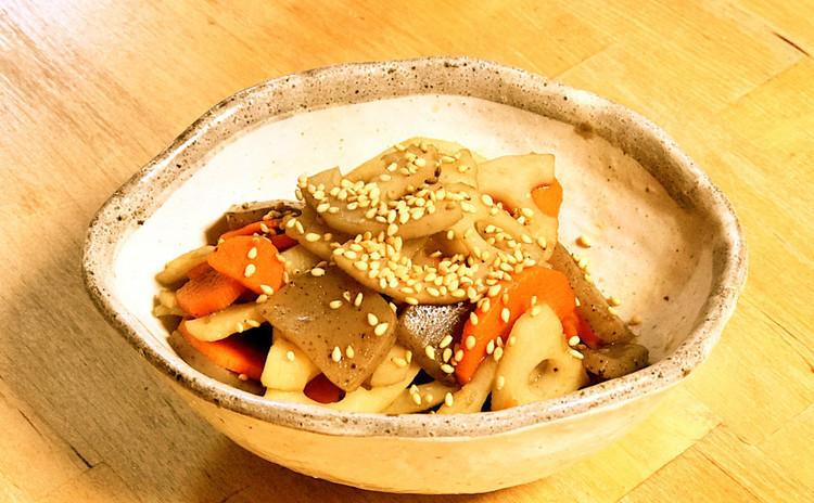 野菜なのにボリューム満点☆クリームシチューと3種類万能タレの5品精進