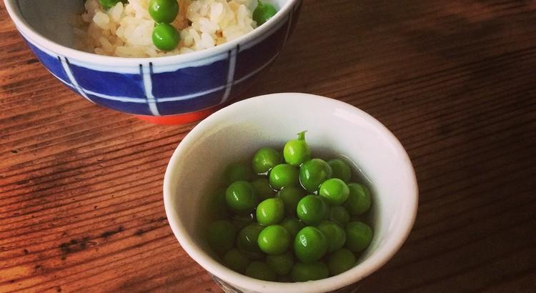 実豌豆(グリンピース)の淡煮