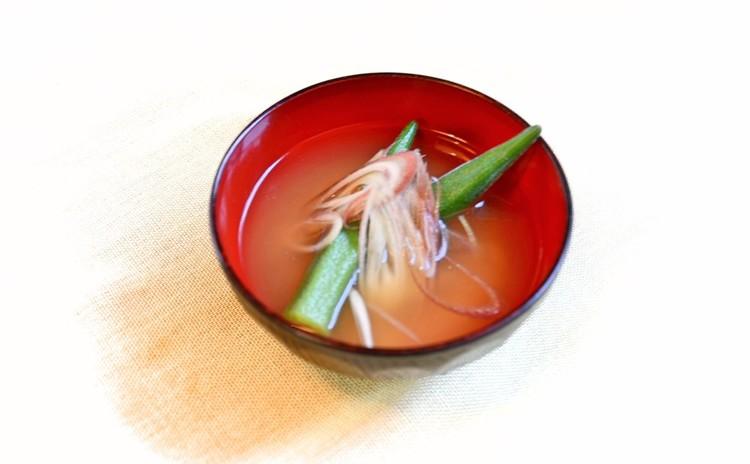 旬野菜のお味噌汁