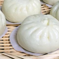 大人気な肉まん&子どもが喜ぶカスタードまん&上海ネギ油素麺