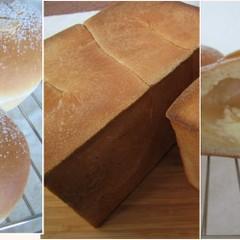 定番!美味しい角食と一押しメニューのアップルクリームパン