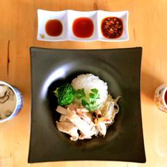 お洒落な海南鶏飯を家でおもてなし☆5品のアジアンカフェ料理