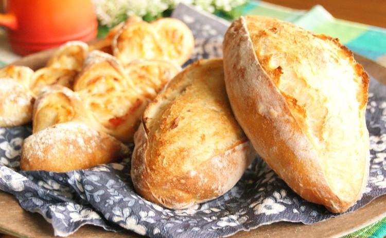 ヨーグルトレーズン酵母で作る!ミニクッペとベーコンチーズエピ