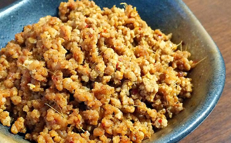 保存できる万能肉味噌を5品へ変身♪台湾混ぜそば&上海焼売‥など