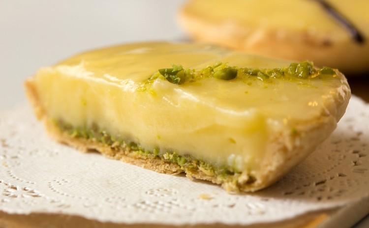 Sicile~レモンのタルトレット     ピスタチオ風味 4つ