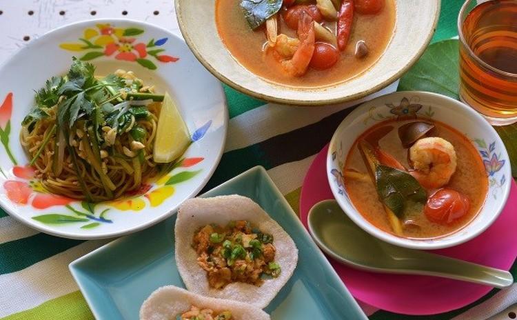 トムヤムクンがおうちで作れる!タイ料理レッスン