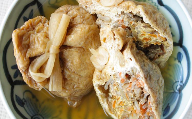 根菜の茶巾