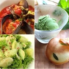 ムール貝にチキンパテを詰めた手軽美味しいイタリアン!パンやデザートも♪