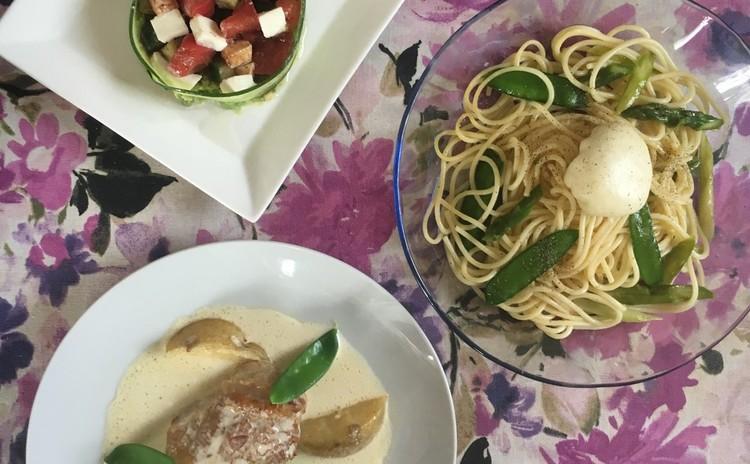 ヘルシーで綺麗なイタリアンコースでお皿も身体も美しく