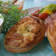 【夏休みに!親子パン教室】美味しい自由研究?!ハムロールと揚げパン♪