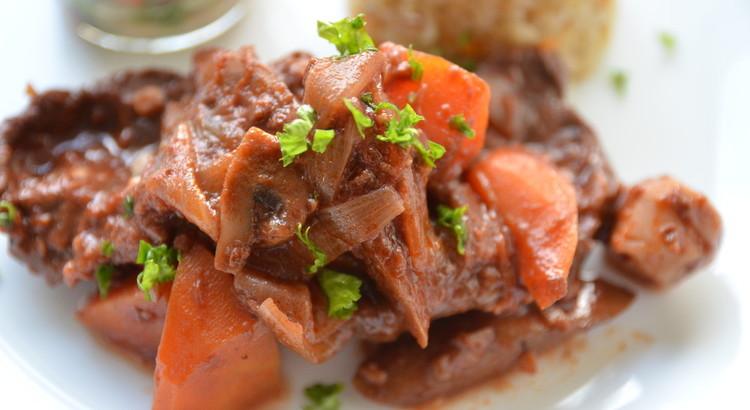 ☆お味噌で作る牛肉のブラウンシチュー