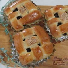 ランチ付☆白神こだま酵母で作る「あんパン2種の成形」