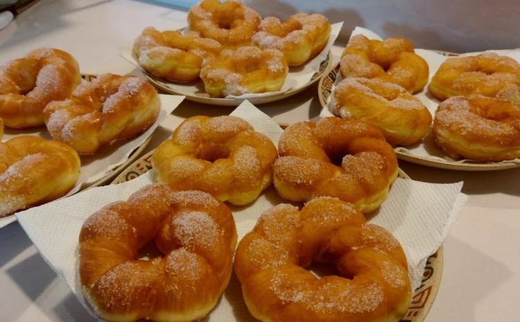 ブリオッシュ生地の美味しいドーナツ