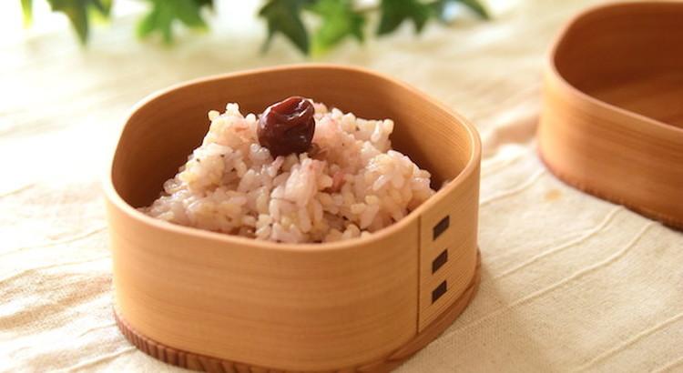 発芽玄米梅御飯