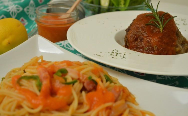 手作りケチャップはアレンジ自在!やさしい味わいの洋食メニュー♬