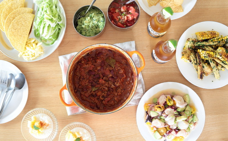 夏はメキシコ料理で簡単おもてなし献立