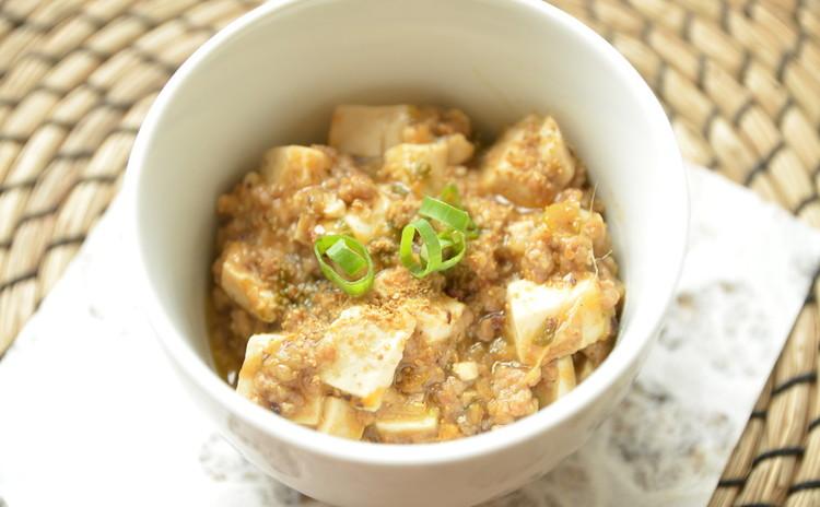 和調味料で作るマーボー豆腐