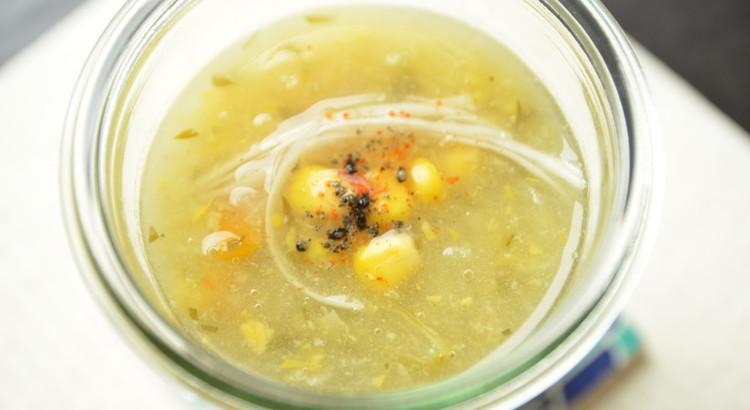 具沢山 中華風コーンスープ