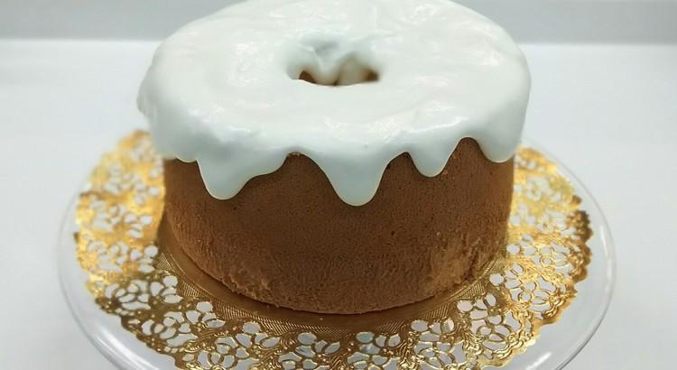 基本のバニラシフォンケーキ