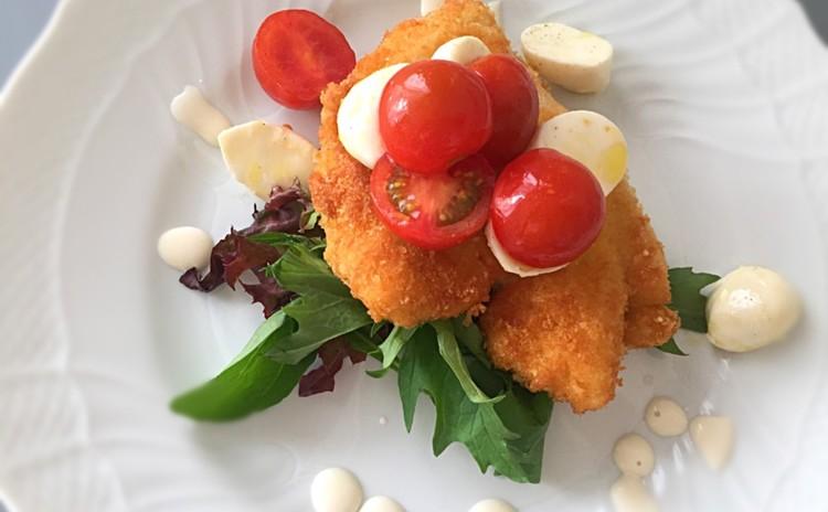 イタリアの初夏の定番料理!アスパラリゾット&鶏むね肉のカツレツ
