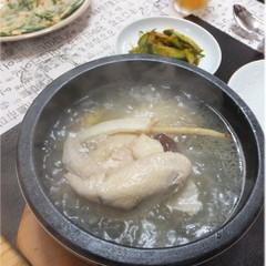 ~漢方参鶏湯~漢方で夏の暑さに負けない!!スタミナいっぱいのほか2品