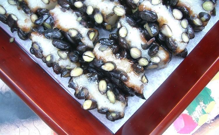 💛トックを作りませんか💛こりこり黒豆たっぷりの餅~コンチャルピョン