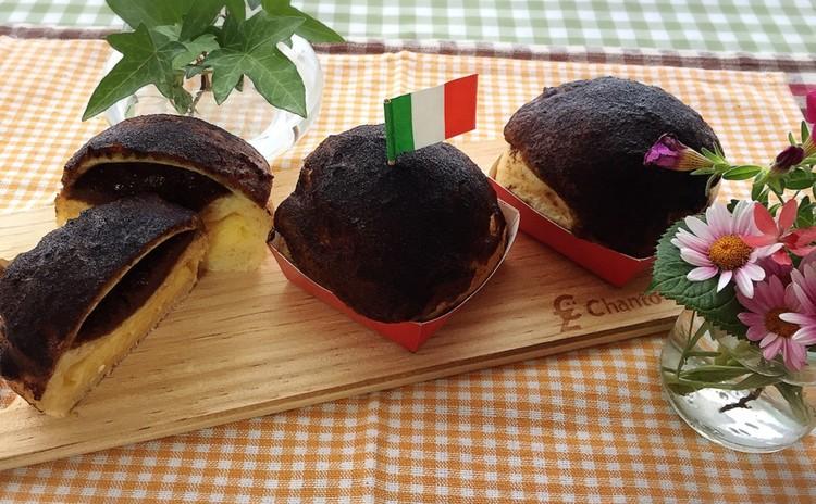 ひとつの生地で2種類のイタリアンなパン~ティラミスパン~