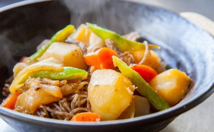【基礎レッスン3】肉じゃが、ヘルシー揚げ出し豆腐、胡麻和え他
