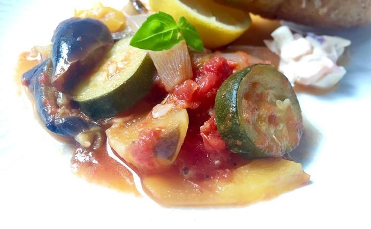 チキンカツレツ&ラタトゥイユ&しらすとトマトのペペロンチーノをお家で♬