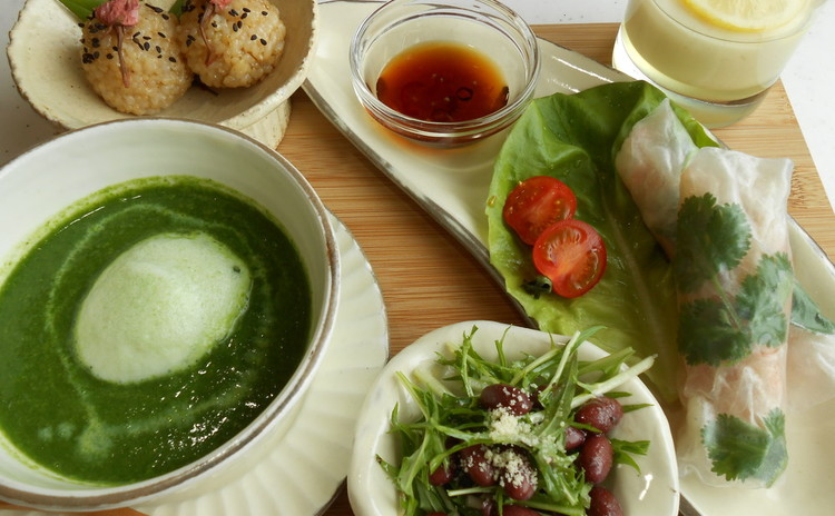 無国籍な自然食♪身近な調味料で食べやすいエスニックからデザートまで!