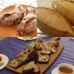 自家製酵母(ルヴァンデュール)クランベリーノアとパン オ ソン